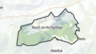 Map / Raach am Hochgebirge