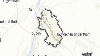 Cartina / Sankt Florian am Inn