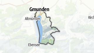 Karte / Gmunden