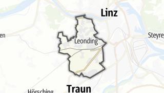 Mapa / Leonding