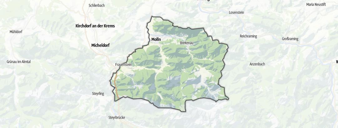 Kartta / Tuvat ja kodat kohteessa Molln
