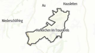Mapa / Hofkirchen im Traunkreis