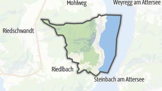 Mapa / Nussdorf am Attersee