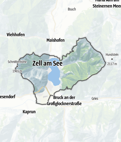 Map / Zell am See