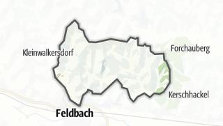 מפה / Kornberg bei Riegersburg