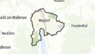 Mapa / Oberhofen am Irrsee