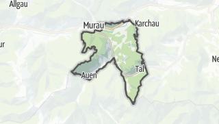 Mapa / Lassnitz near Murau