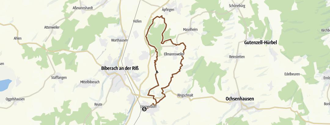 Mapa / Ummendorf/Laupertshausen/Ringschnait
