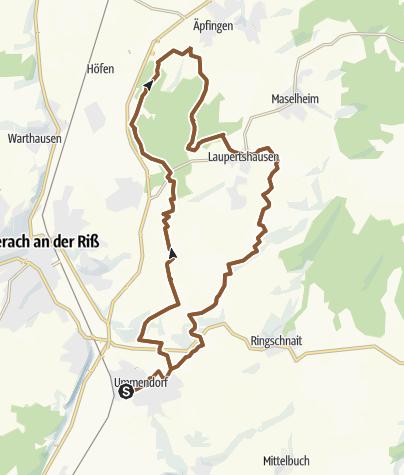 地图 / Ummendorf/Laupertshausen/Ringschnait