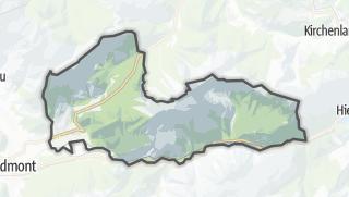 Karte / Weng im Gesäuse