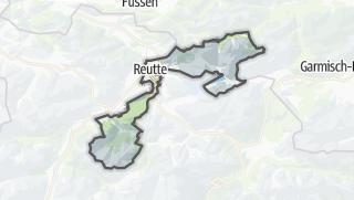 Karte / Reutte