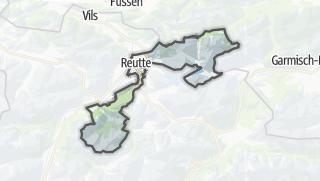 Cartina / Reutte