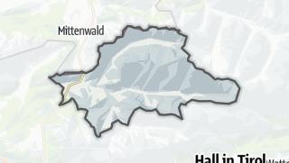 Karte / Scharnitz