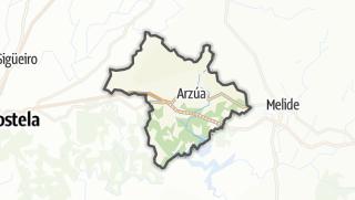 Kartta / Arzúa