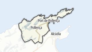 Karte / Pollença