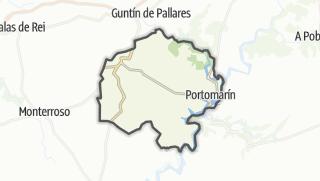 Kartta / Portomarín