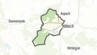 Mapa / Carspach