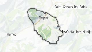 Karte / Megève