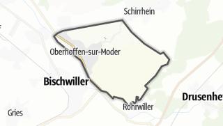 Mapa / Oberhoffen-sur-Moder