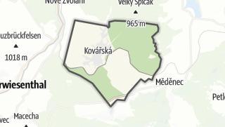 Térkép / Kovářská