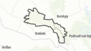 Karte / Uherčice