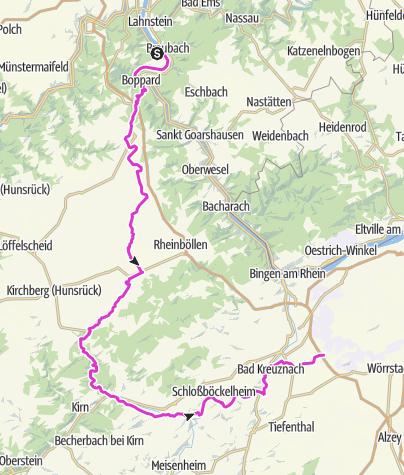 Karte / Sprendlingen-Nahetal-Kellenbach-Argental-Pfalzfeld-Brey