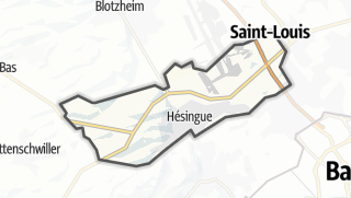 מפה / Hésingue