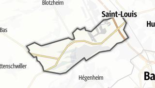 Mapa / Hésingue