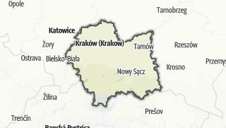 Cartina / Malopolskie