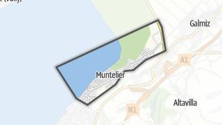 Mapa / Muntelier