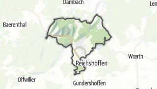Mapa / Niederbronn-les-Bains