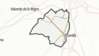 מפה / Santovenia de la Valdoncina