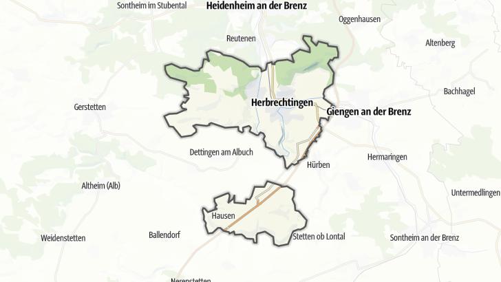 Map / Herbrechtingen