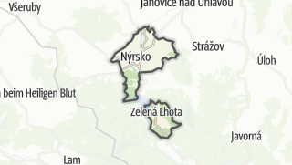 מפה / Nýrsko