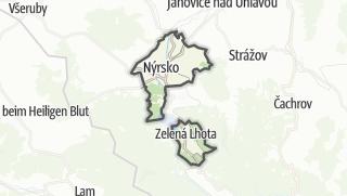 地图 / Nýrsko