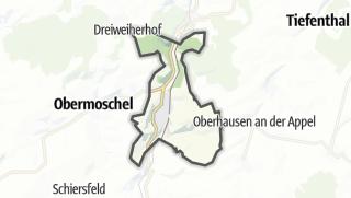 Karte / Alsenz