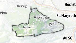 Karte / Walzenhausen