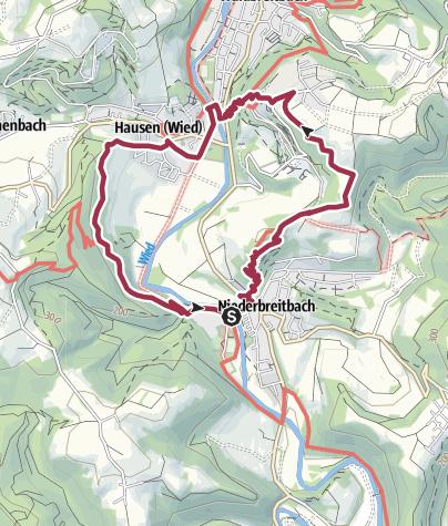 Karte / N5 Niederbreitbach