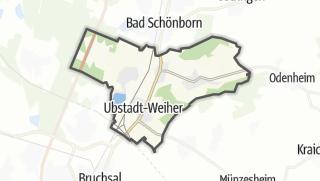 地图 / Ubstadt-Weiher