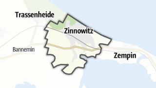 Cartina / Zinnowitz
