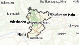 Karte / Main-Taunus-Kreis