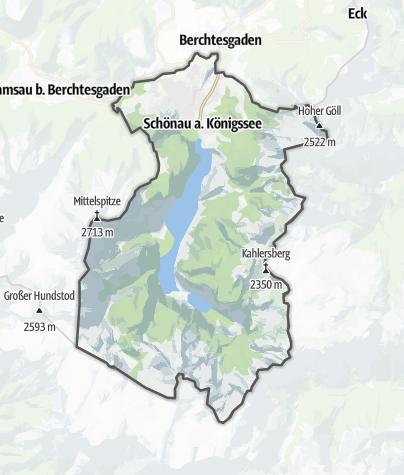 Karte / Schönau am Königssee