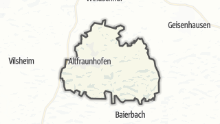 Mapa / Altfraunhofen