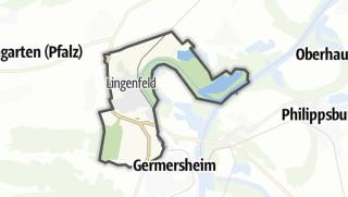Karte / Lingenfeld