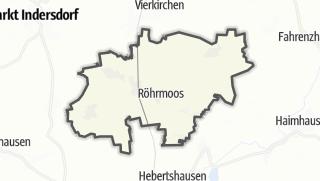 Mapa / Röhrmoos