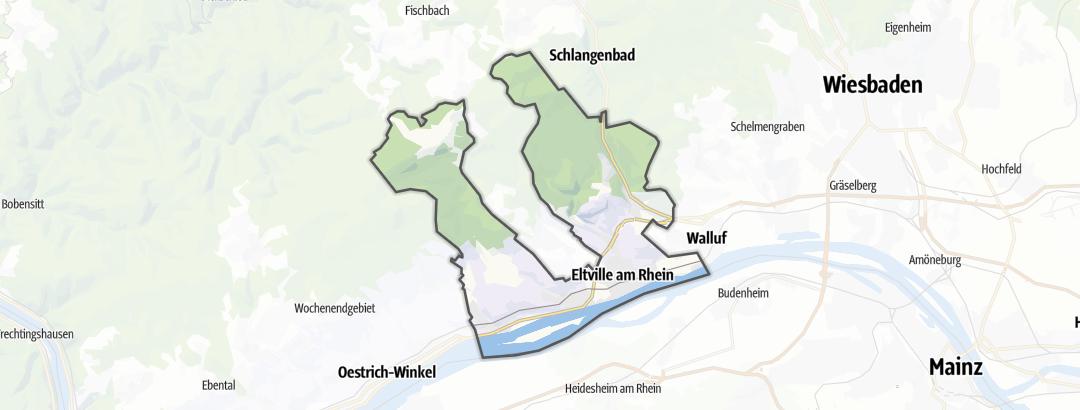 Mappa / Trekking a Eltville