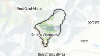 מפה / Settimo Vittone