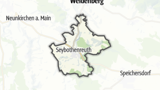 Cartina / Seybothenreuth