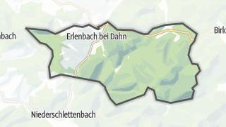 Karte / Erlenbach bei Dahn