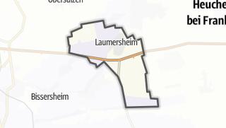 Mapa / Laumersheim